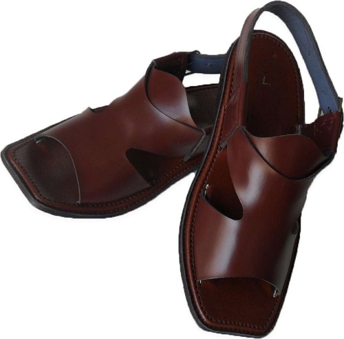 3a7e3c01d19e Brown Leather Chappal - Panj-e-daar Chappal for Men