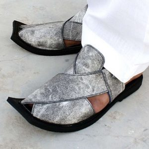 Denim Made Best Quality Peshawari Sandals